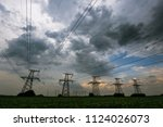 Dramatic Sky Above Electricity...