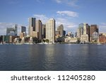 Stock photo boston skyline 112405280