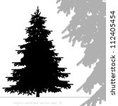 Christmas Tree Vector With...