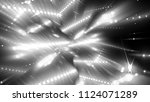 white and black abstract... | Shutterstock . vector #1124071289