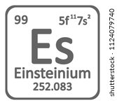 periodic table element... | Shutterstock .eps vector #1124079740