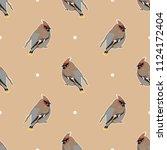 seamless geometrical pattern... | Shutterstock .eps vector #1124172404