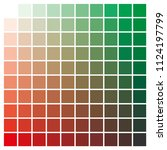 cmyk color chart to use in... | Shutterstock .eps vector #1124197799