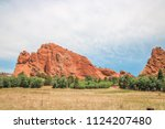 Landscape Of Boulder  Colorado...