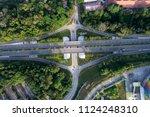kuala lumpur city highway... | Shutterstock . vector #1124248310