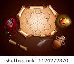 map adventure pirates skull...   Shutterstock .eps vector #1124272370