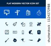 modern  simple vector icon set... | Shutterstock .eps vector #1124272988