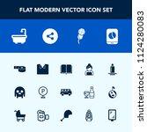 modern  simple vector icon set... | Shutterstock .eps vector #1124280083