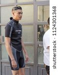 milan  italy   june 16 ... | Shutterstock . vector #1124301368