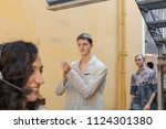 milan  italy   june 16 ... | Shutterstock . vector #1124301380