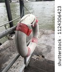 Old Life Preserver Hanging At...