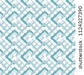 grunge textured rhombs... | Shutterstock .eps vector #1124327390