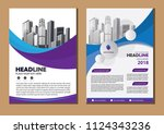 business abstract vector... | Shutterstock .eps vector #1124343236