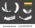 vector transparent set of... | Shutterstock .eps vector #1124359070