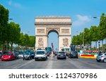 paris  france   circa may 2018  ... | Shutterstock . vector #1124370986
