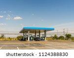 khon kaen  thailand   december... | Shutterstock . vector #1124388830