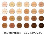 skin tone index color .... | Shutterstock .eps vector #1124397260