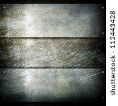 metal plate | Shutterstock . vector #112443428