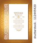 Vintage Royal Background ...