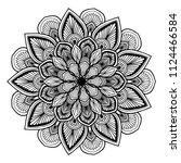 mandalas for coloring  book....   Shutterstock .eps vector #1124466584