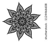 mandalas for coloring  book....   Shutterstock .eps vector #1124466608