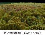 block  geometric structure ... | Shutterstock . vector #1124477894