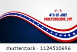 4th of july  fourth of july... | Shutterstock .eps vector #1124510696