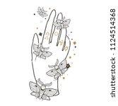 sketch graphic illustration... | Shutterstock .eps vector #1124514368