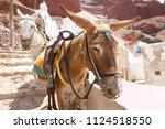 santorini  greece  july 1st ...   Shutterstock . vector #1124518550