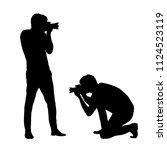 Set Silhouettes Man...