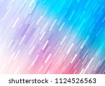 light blue  red vector layout... | Shutterstock .eps vector #1124526563