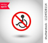 forbidden disabled vector icon. ...