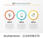 infographic design template.... | Shutterstock .eps vector #1124538170