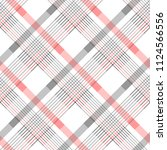 seamless tartan plaid pattern... | Shutterstock .eps vector #1124566556