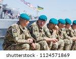 odessa ukraine   july 1  2018 ... | Shutterstock . vector #1124571869