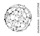 big data visualization. hud... | Shutterstock .eps vector #1124571968