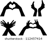 Hands Silhouettes