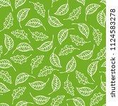 vector seamless pattern of... | Shutterstock .eps vector #1124583278