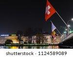 geneva  switzerland   november...   Shutterstock . vector #1124589089