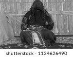 abu dhabi uae 01 27 2018 ... | Shutterstock . vector #1124626490
