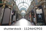 leeds  uk   june 26  2018 ... | Shutterstock . vector #1124642903