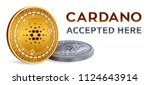 cardano. accepted sign emblem....   Shutterstock .eps vector #1124643914