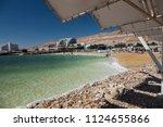dead sea beach view | Shutterstock . vector #1124655866