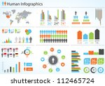 Human Infographic Vector...