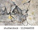 Cracked Concrete Texture...