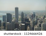 hitting the streets of chicago... | Shutterstock . vector #1124666426