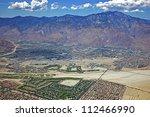Aerial Look At Palm Springs  Ca