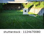 targets at the shooting range | Shutterstock . vector #1124670080