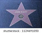 hollywood  ca   june 29  john... | Shutterstock . vector #1124691050