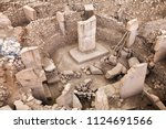 ancient site of gobekli tepe in ... | Shutterstock . vector #1124691566
